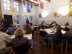 Annähernd 80 Teilnehmer beim Diskussionsabend der ISG Obermarkt Minden